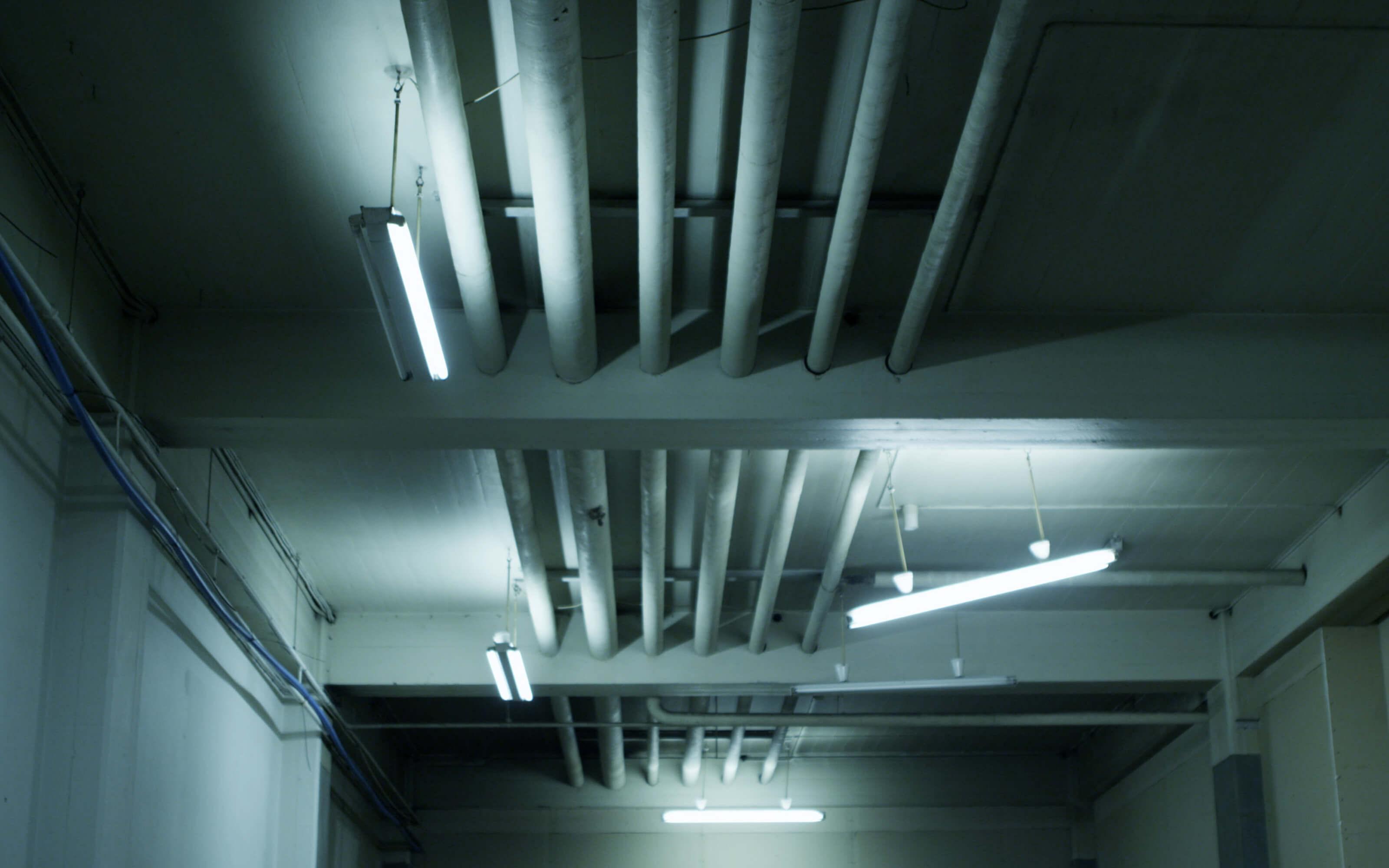 fluorescent room phosphor studio